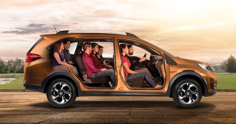 La Honda BR-V Prime 2019 tiene una propuesta de seguridad muy acotada