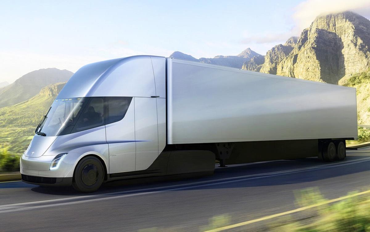 Tesla Semi carretera
