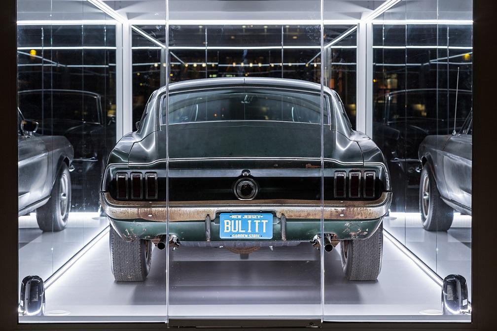 Subastarán el Ford Mustang de la película 'Bullitt'