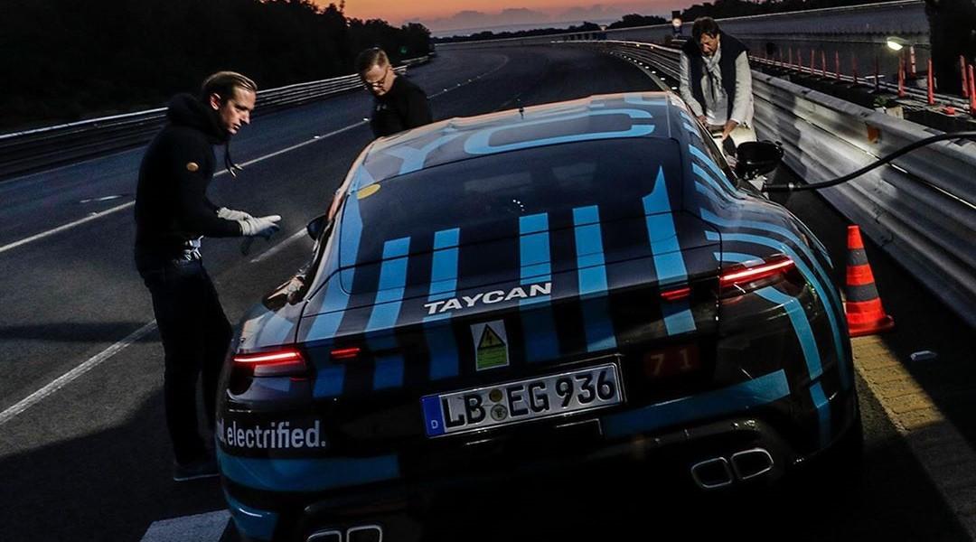 El Porsche Taycan enfrentó esta prueba bajo la conducción de 6 pilotos diferentes