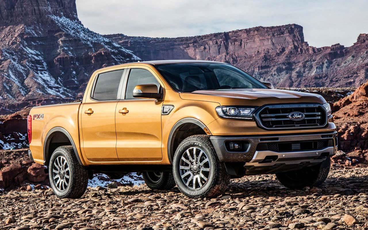 Esta es la Ford Ranger 2019