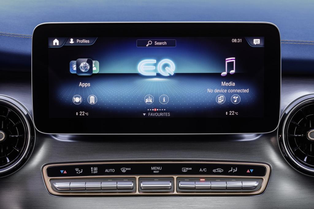 Mercedes-Benz MBUX EQV