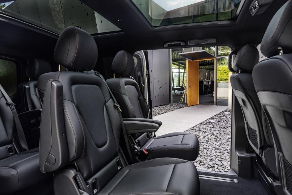 Mercedes-Benz EQV asientos