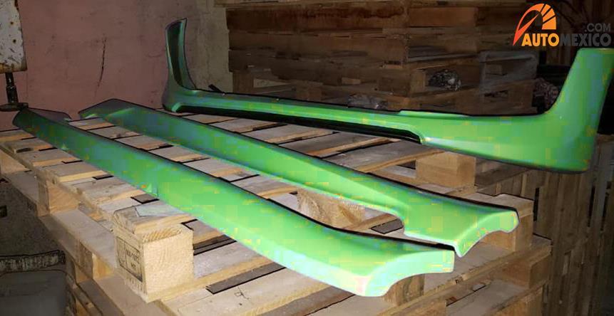 Body kit verde