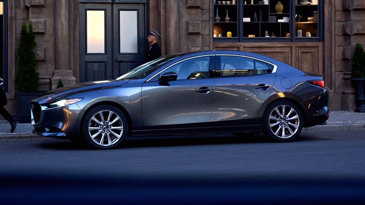 El Mazda 3 Sedán i Grand Touring TA 2019 tiene gran personalidad por la ejecución de la filosofía Kodo