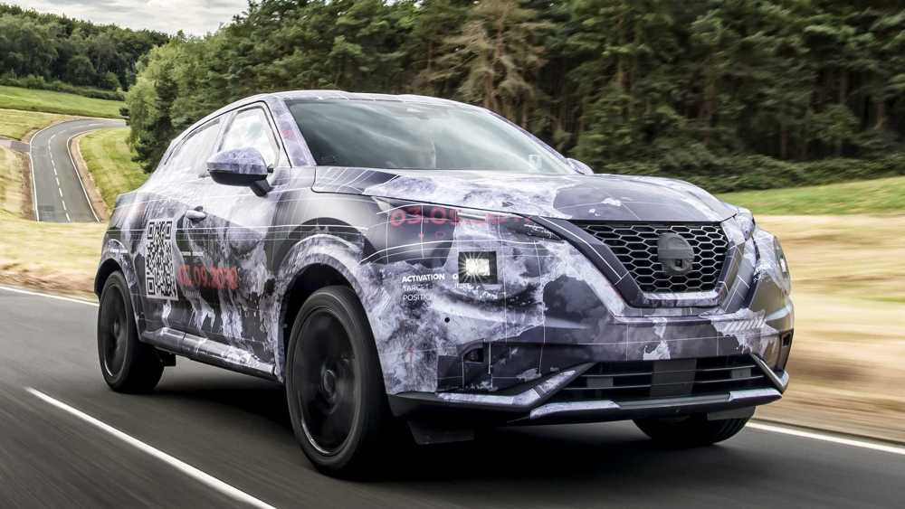 La Nissan Juke 2020 será presentada de forma oficial el próximo 3 de septiembre