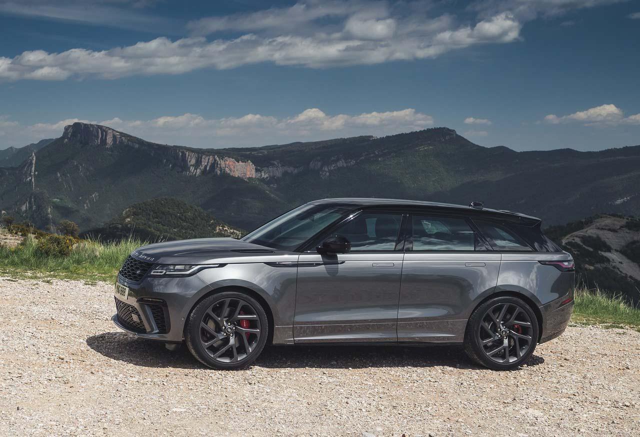 La Range Rover Velar está entre la Evoque y la Range Rover Sport