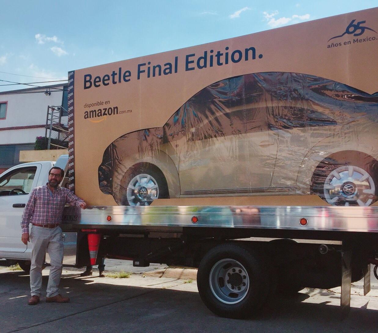 Amazon entregó el primer Volkswagen Beetle Final Edition