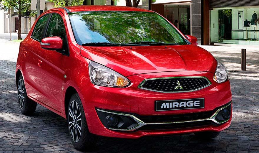 El Mitsubishi Mirage autos recomendados para taxi en mexico