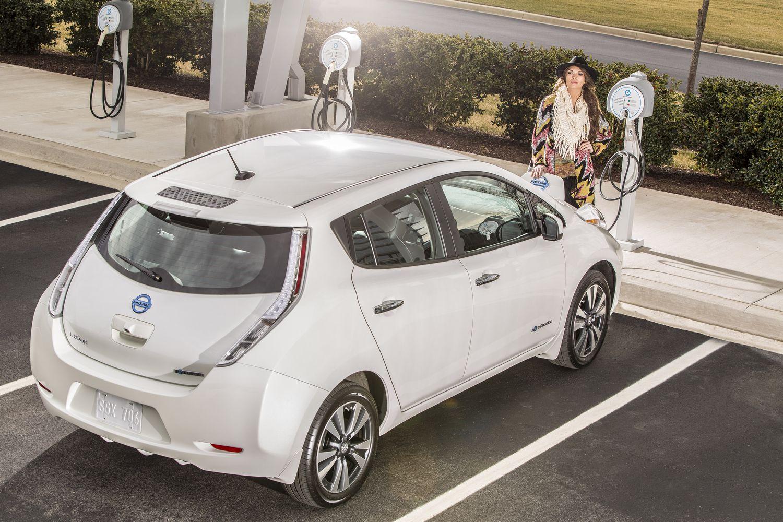 Comprar auto electrico mexico Nissan Leaf