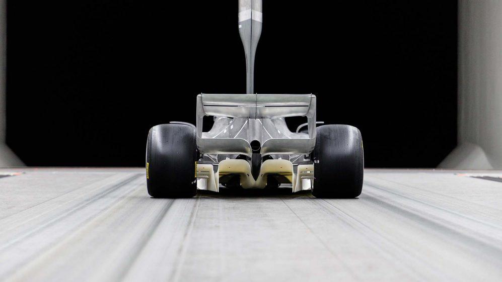 La Fórmula 1 está poniendo a prueba como se desempeñarían los monoplazas con el nuevo reglamento