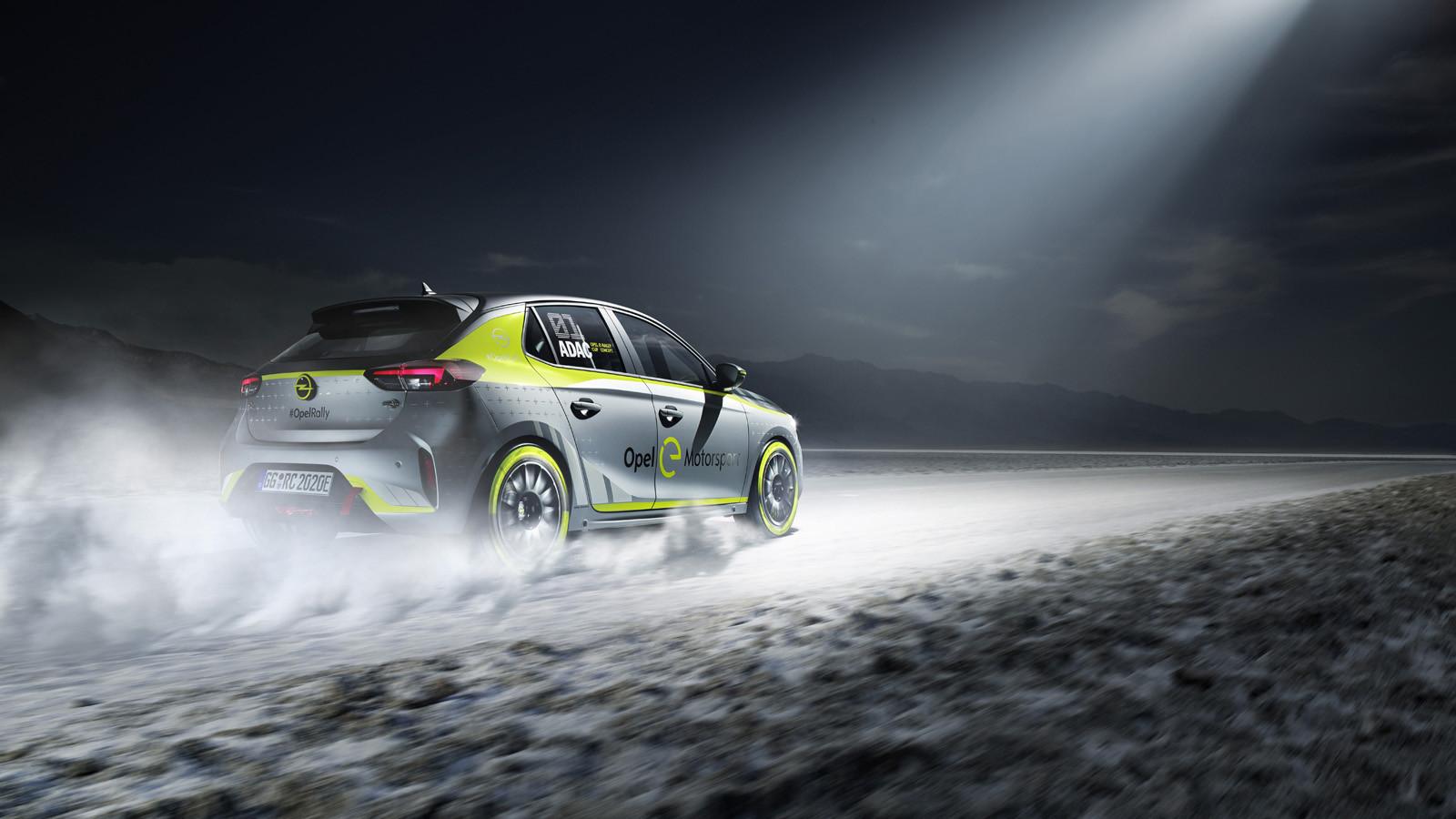 Opel Corsa e-Rally 2020