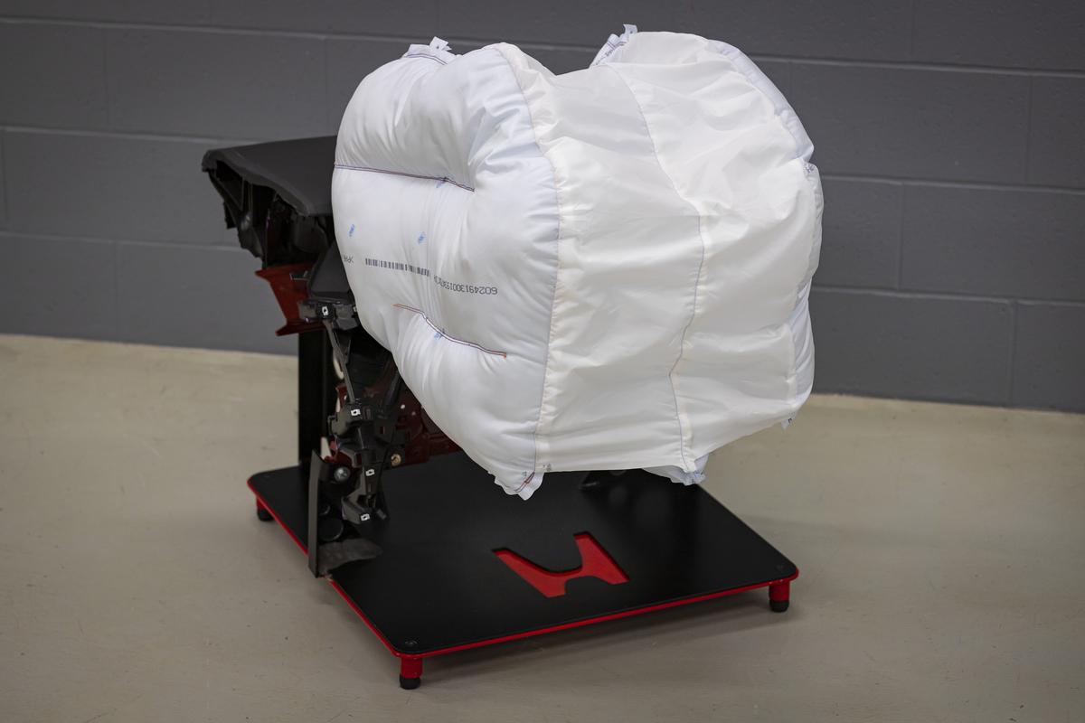 Honda desarrolla una nueva bolsa de aire