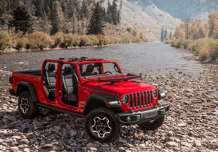 La Jeep Gladiator Rubicon 2020 tiene gran estilo y no pasa desapercibida en ningún lado