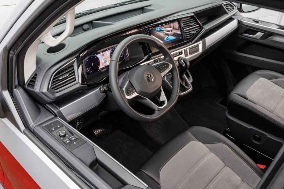La Volkswagen Transporter T6 2020 mejora su oferta tecnológica