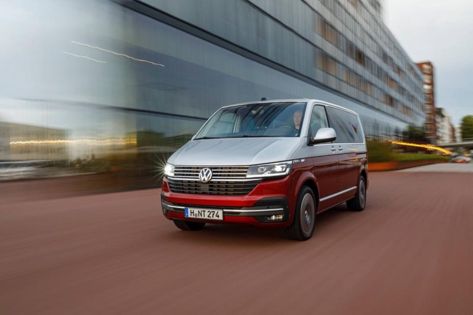 La renovada Volkswagen Transporter T6 2020 refinó algunos elementos del diseño exterior