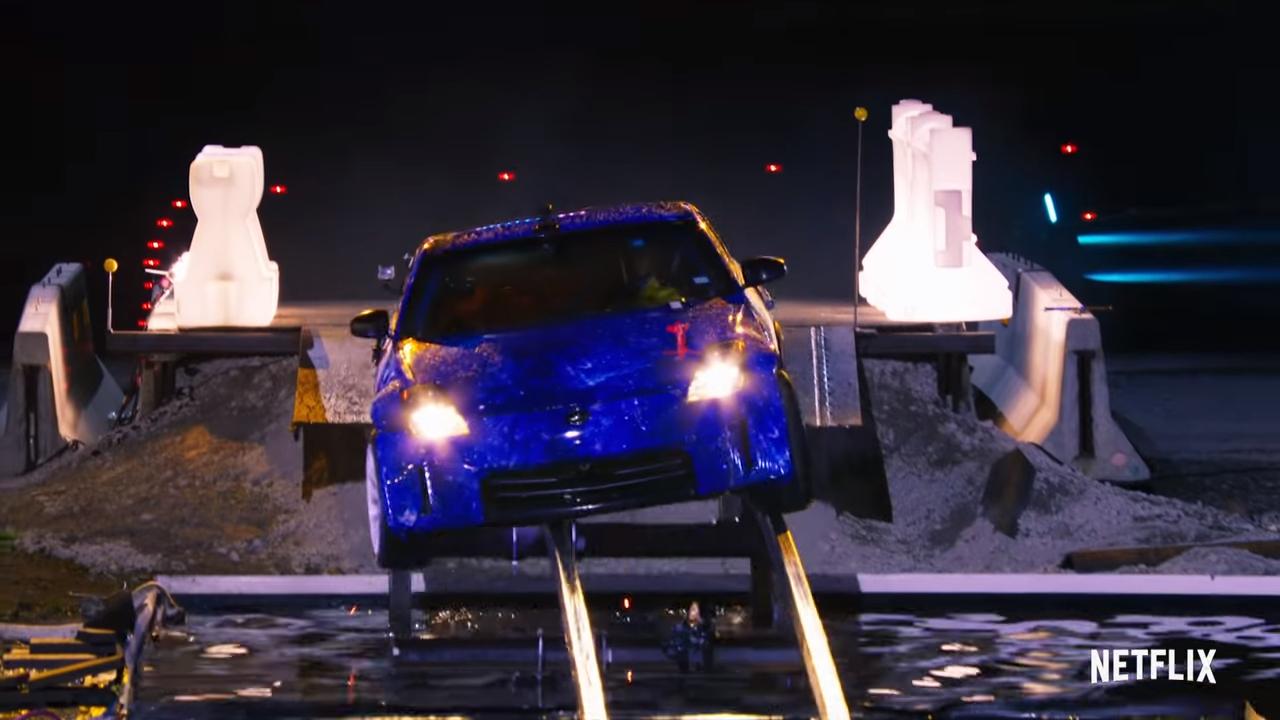 Hyperdrive asegura adrenalina por presentar circuitos emocionantes y maniobras imposibles