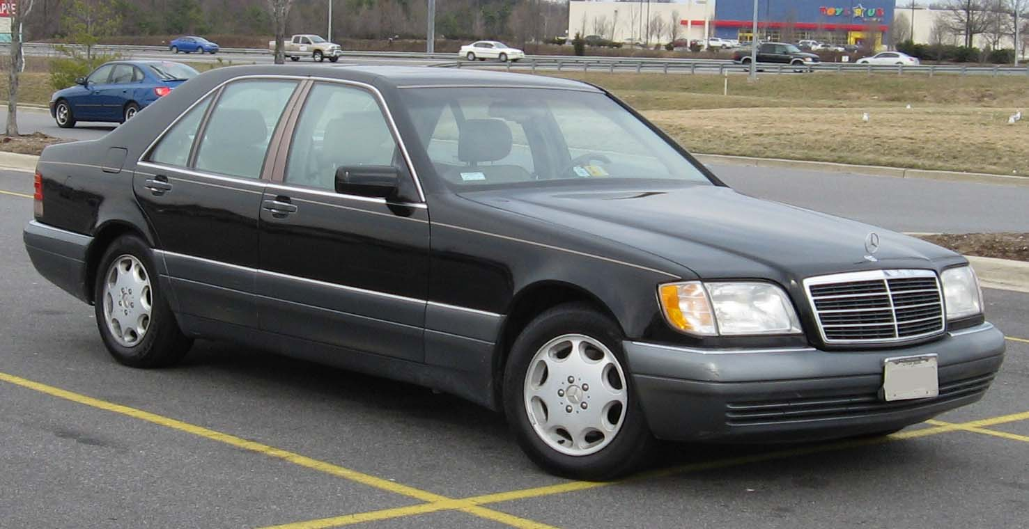 La Princesa Diana murió en un Mercedes-Benz Clase S