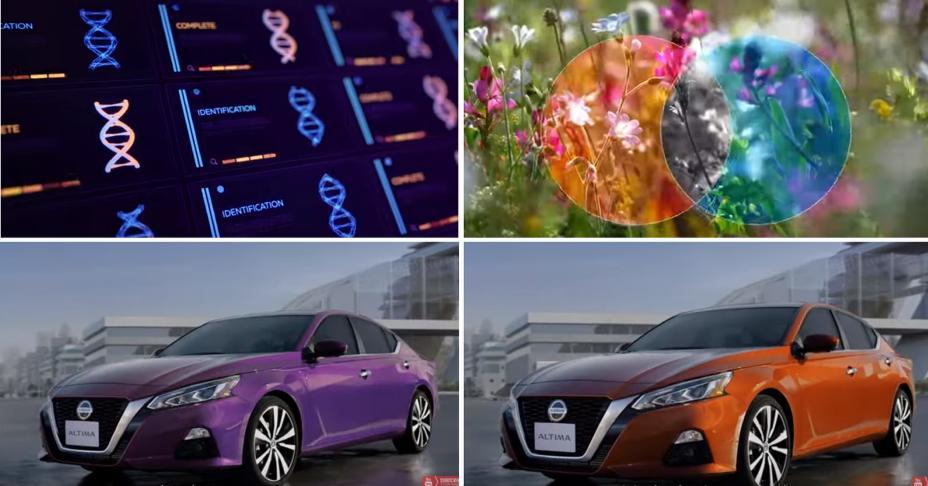 Nissan Altima 2019 colores ADN