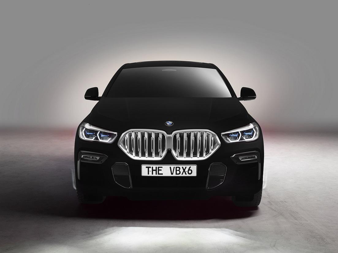La BMW X6 Vantablack será presentada en el Auto Show de Frankfurt