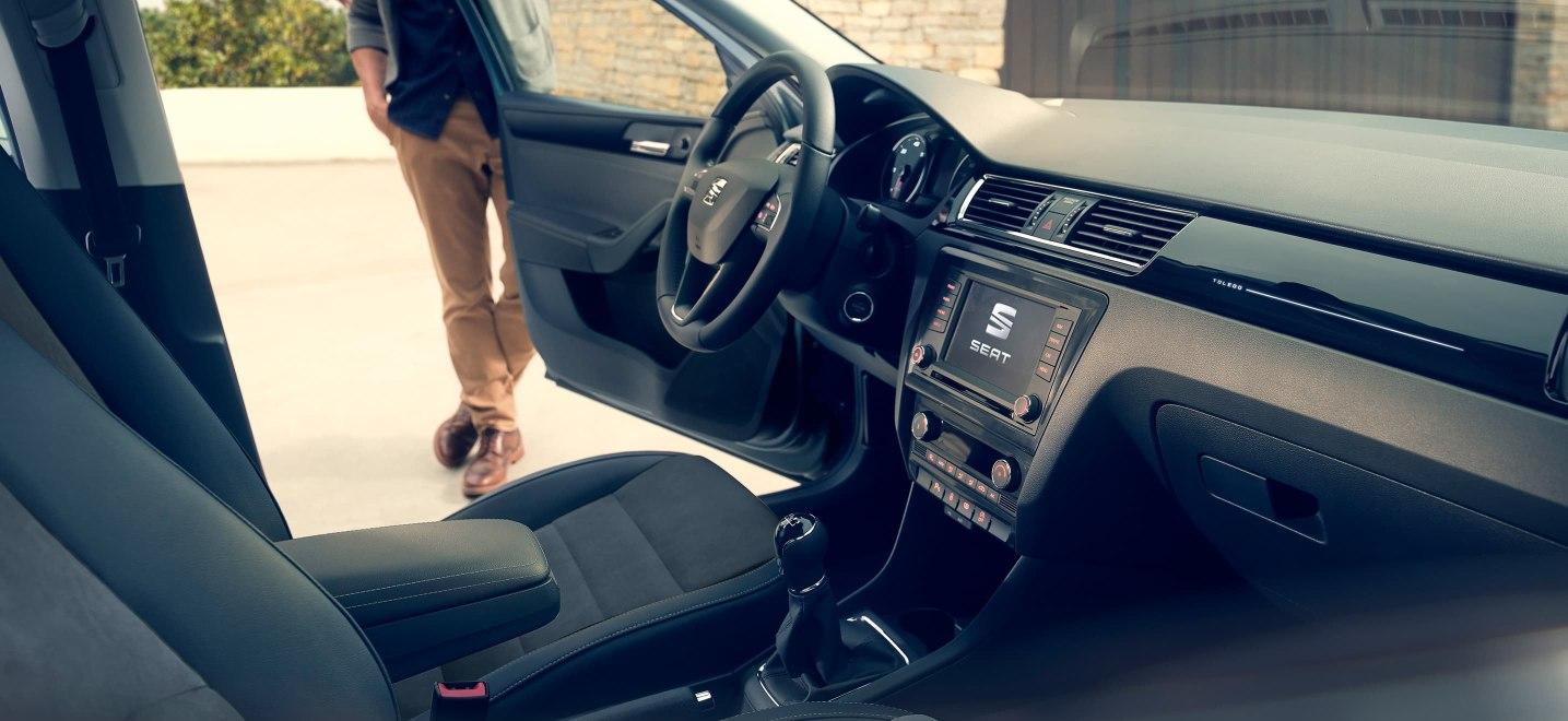 El SEAT Toledo Xcellence 2019 no queda a deber en seguridad