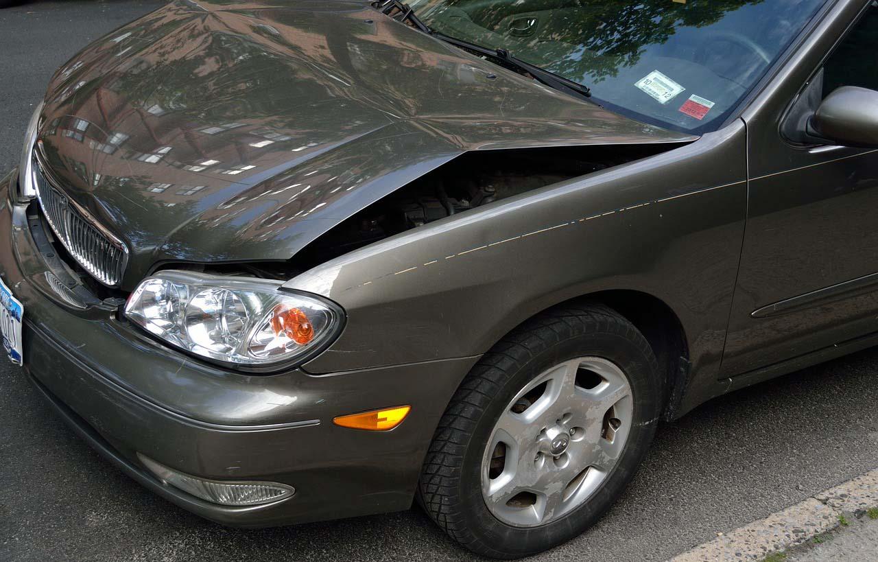 Los autos chocados pueden tener daños estructurales