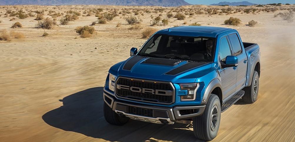 Ventajas desventajas de las pick up Ford Raptor 2018 color azul
