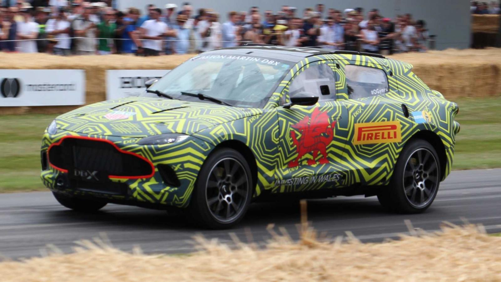 La DBX será el modelo más importante en la historia de Aston Martin