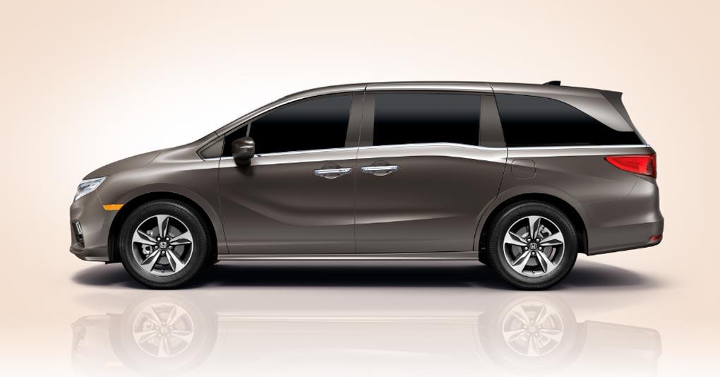 La Honda Odyssey Touring 2019 cuenta con un diseño aerodinámico basado en el HondaJet