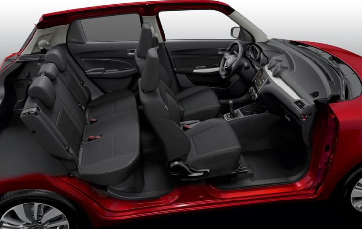 El Suzuki Swift 2020 precio en México tiene una oferta completa en seguridad, aunque se extraña que algunas características no vengan de serie