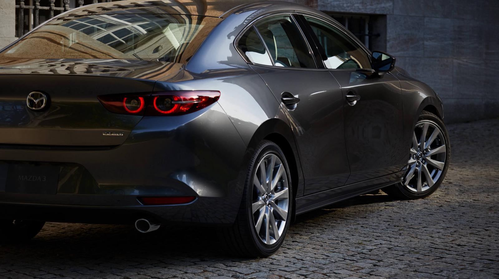 El diseño del Mazda 3 Sedan 2020 i Grand Touring lleva a un nuevo nivel el lenguaje Kodo