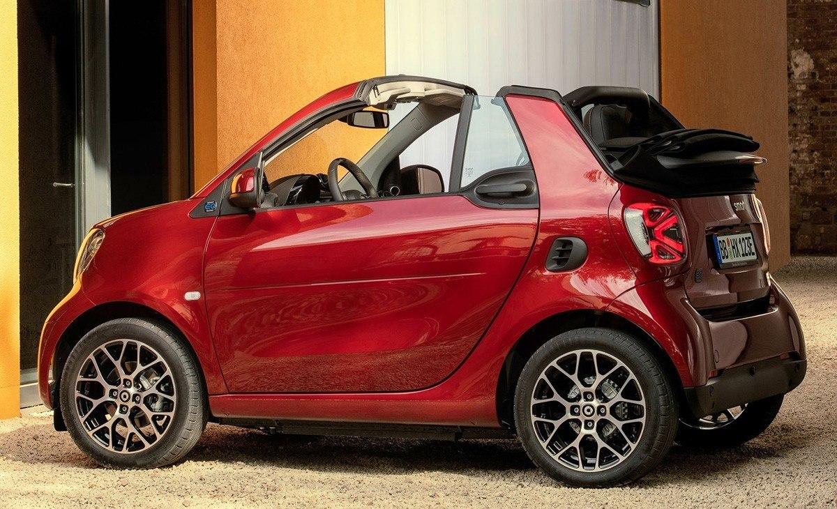 Smart revela su nueva familia de modelos eléctricos