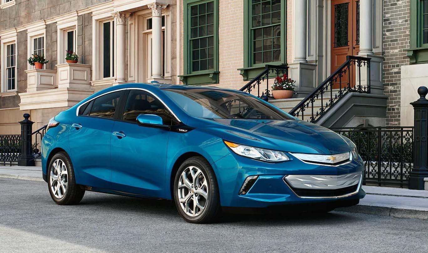 Tipos de autos hibridos Chevrolet Volt 2019
