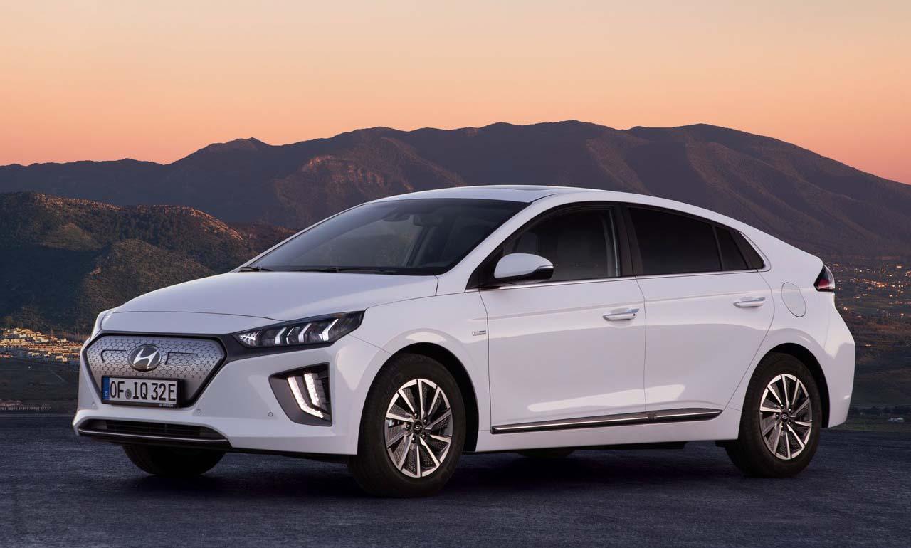 El Hyundai Ioniq Tipos de autos hibridos