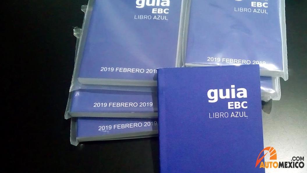 Donde comprar el libro azul 2019