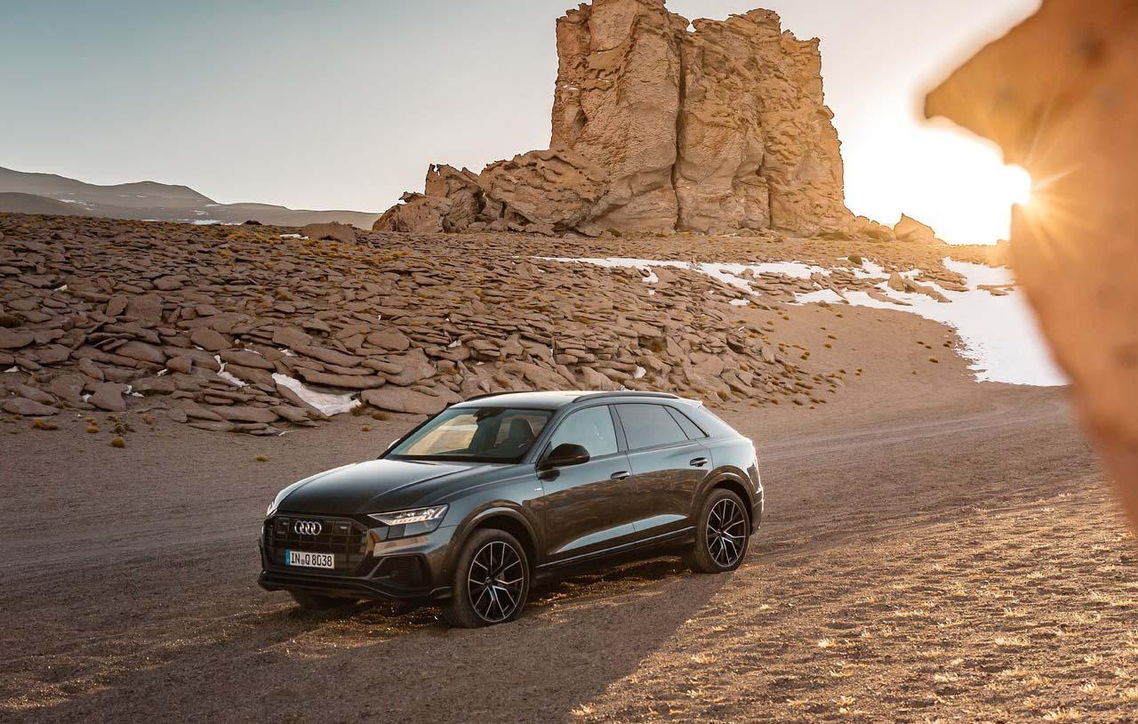 La Audi Q8 2020 precio en México puede alcanzar una velocidad máxima de 250 km/h