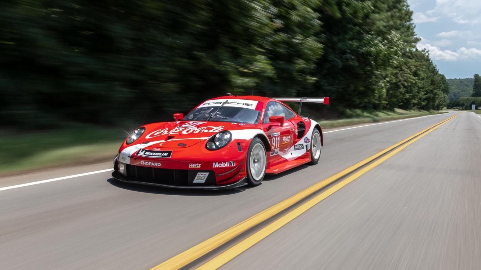 Porsche 911 RSR Coca-Cola