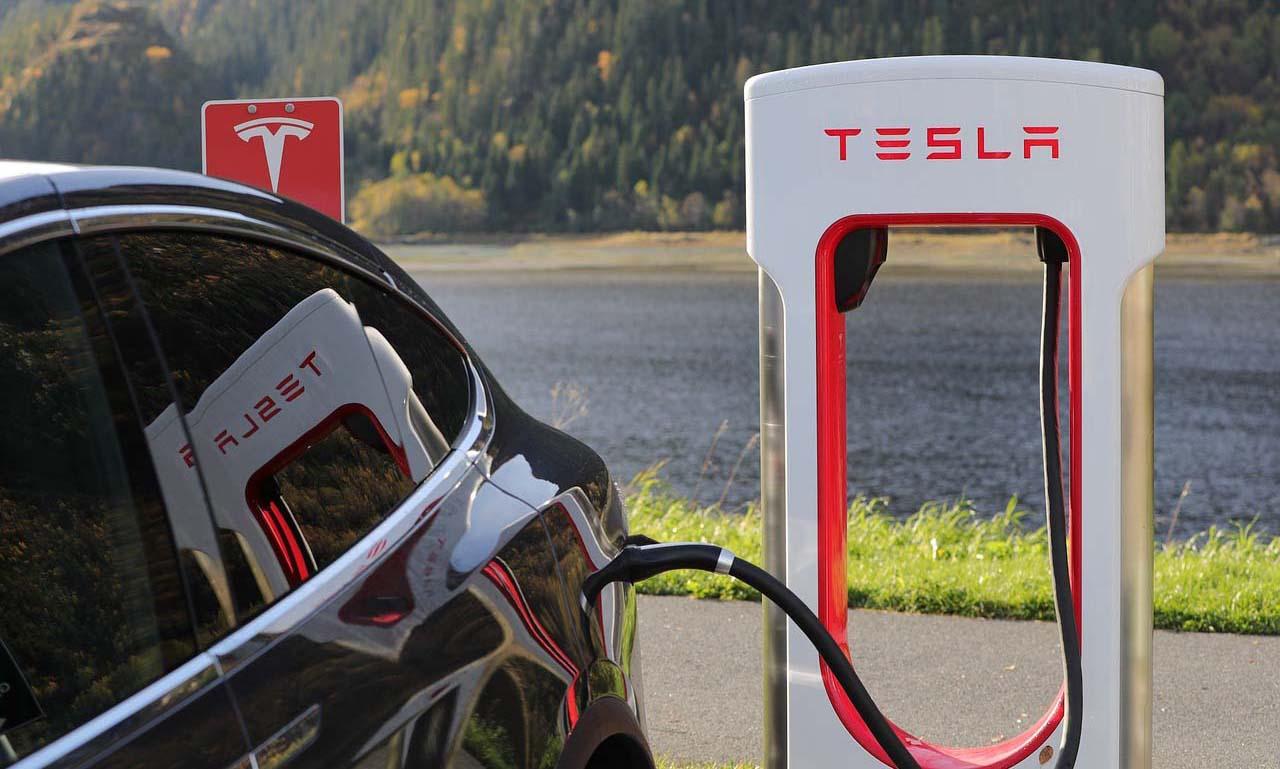 Estaciones de carga rápida Tesla