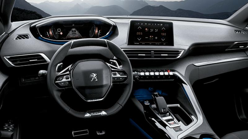 La cabina de la Peugeot 3008 GT Line 2020 entrega un nivel destacado de comodidad