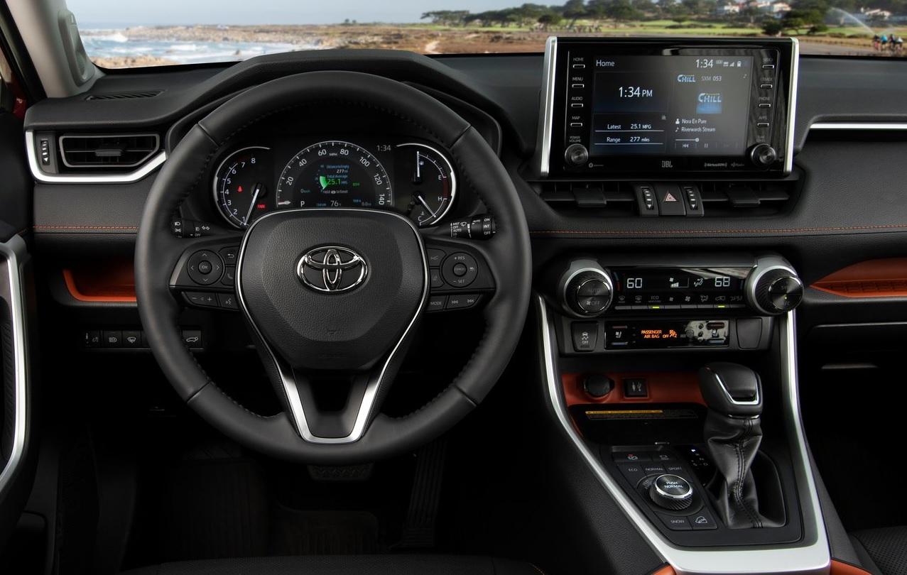 Kia Sportage SXL 2019 Toyota RAV4 Adventure 2019 comparativa