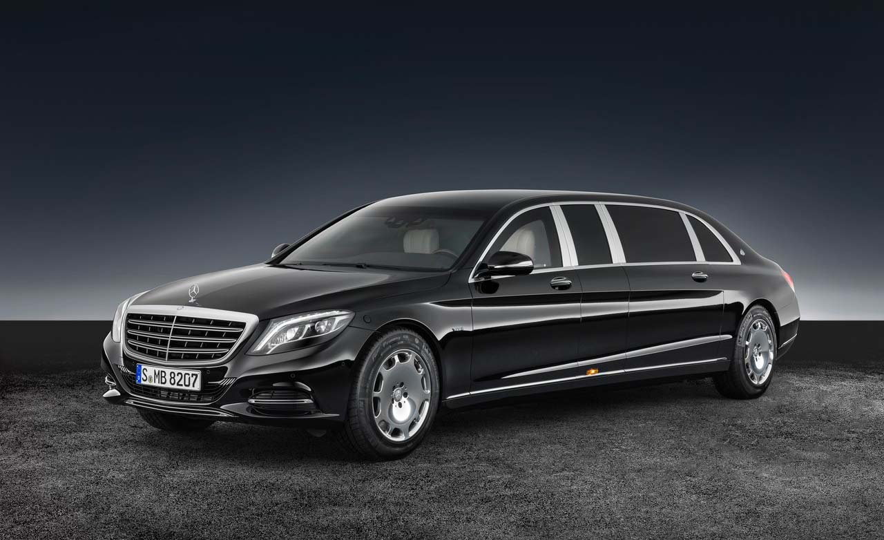 El Mercedes-Benz S600 Pullman Maybach Gard ya se vende blindado