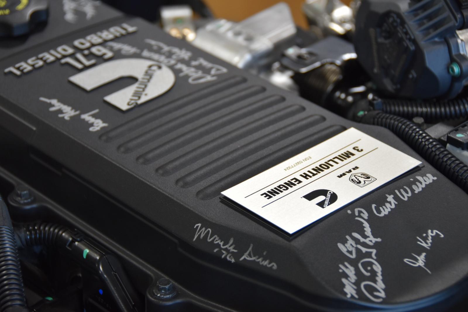 Ram y Cummins celebran 3 millones de motores producidos