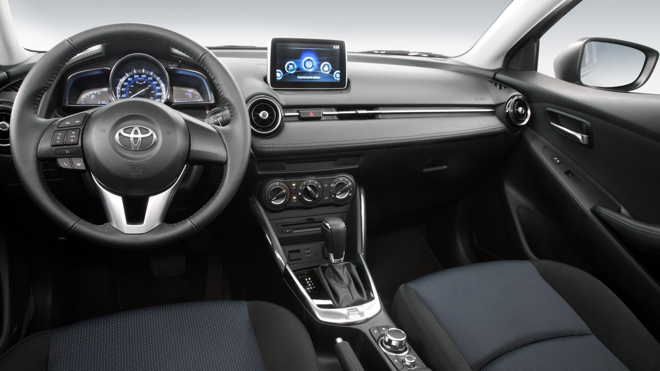 El Toyota Yaris R XLE 2019 ofrece tecnología y confort adecuados para su categoría