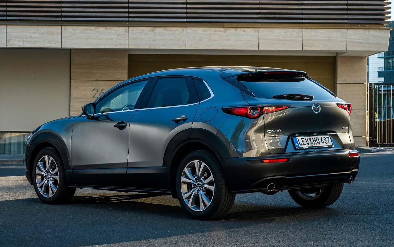 Mazda CX-30 podría albergar al nuevo motor eléctrico de la marca