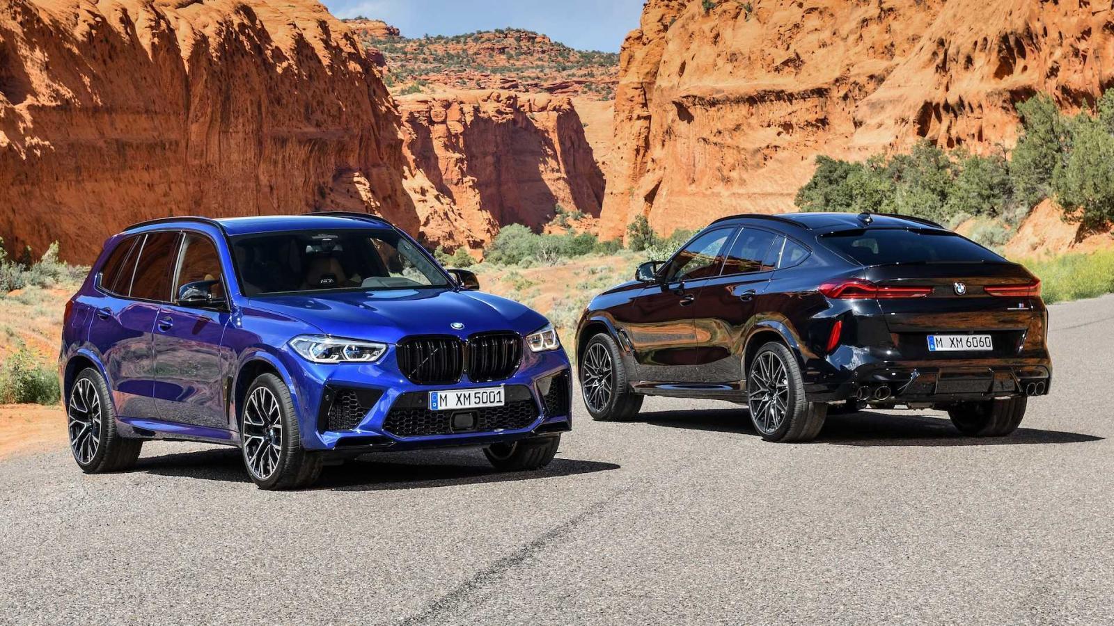 BMW X5M y X6 M 2020