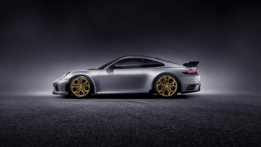 El Porsche 911 992 de TechArt tiene detalles que lo hacen ver más exclusivo