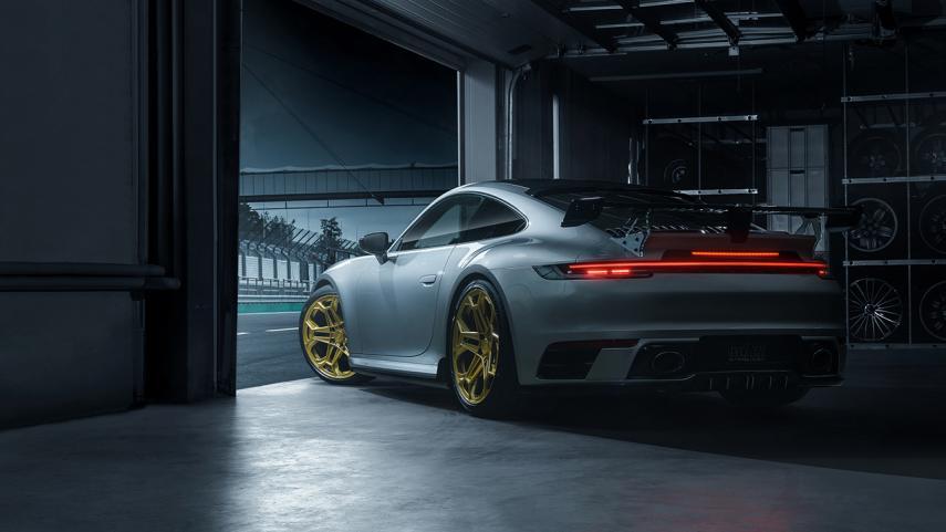 El Porsche 911 992 de TechArt gana 60 caballos de fuerza en comparación con el modelo base