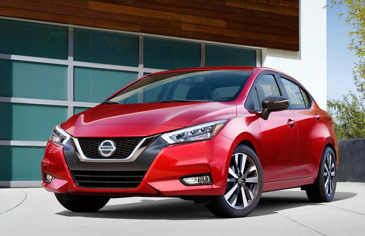 Que es preventa de autos Nissan Versa 2020 color rojo