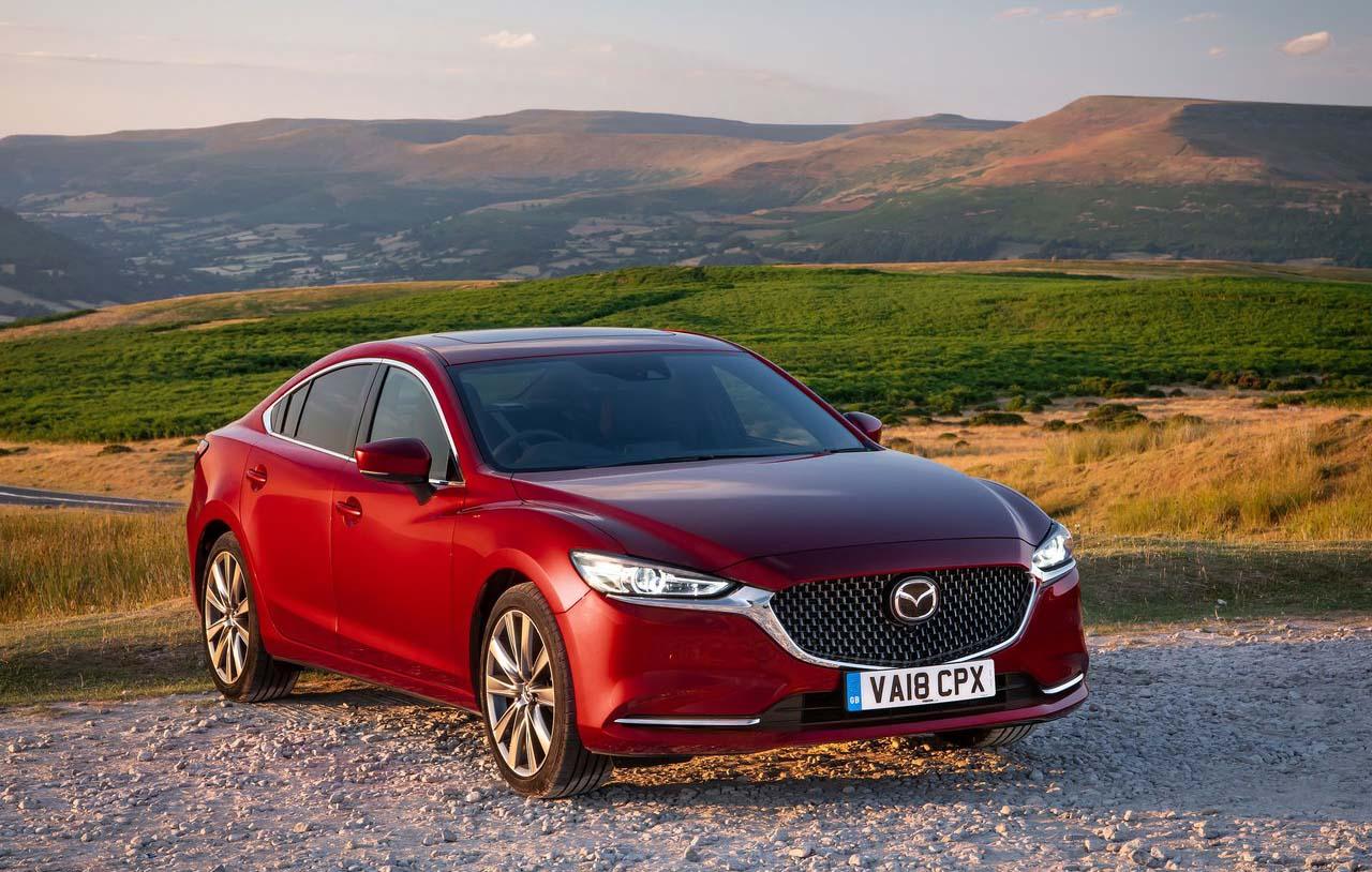 El Mazda 6 Signature 2019 se destaca por ser muy elegante