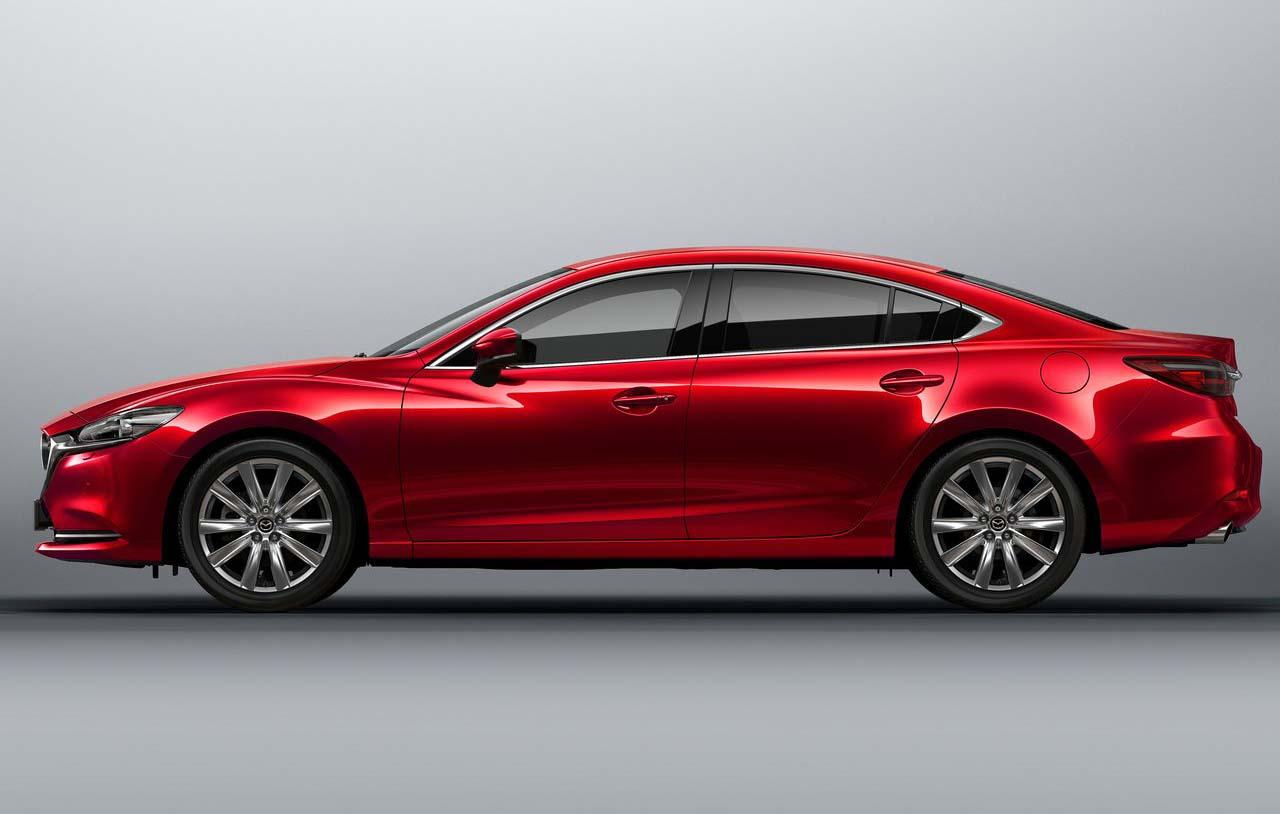 El Mazda 6 Signature 2019 cuenta con un motor 2.5 litros turbocargado